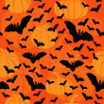 Pumpkin seamless — Stock Vector