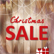 Christmas sale — Stock Vector #35443599