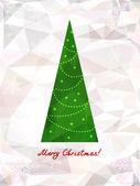 Kerstmis en nieuwjaar achtergrond — Stockvector
