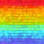 Rainbow colors mosaic background — Stock Vector