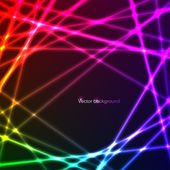 Abstract background with neon lights — Stock Vector