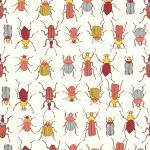 Постер, плакат: Bugs seamless