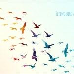 Flying birds — Stock Vector #46623067