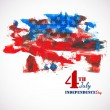 4 of July — Stock Vector #46623231
