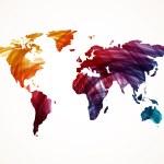 World Map — Stock Vector #46623315