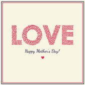 Happy mothers day! — Stock Vector