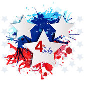 4 of July — Stock Vector