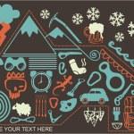 Holiday trip around mountain — Stock Photo #14153678