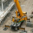 Stock Photo: Crane On Construction Site