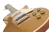 Electric Guitar (Gibson Les Paul Gold Top) — Stock Photo