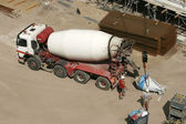 Cement Truck — Stock Photo