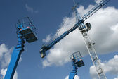 Crane And Lifts — Stock Photo