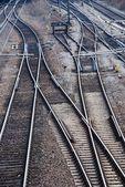 Railway tracks — Zdjęcie stockowe