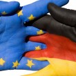 Germany and europe — Stock Photo