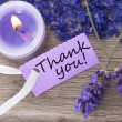 Stock Photo: Background with thank you