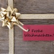 Frohe Weihnachten — Stock Photo