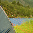 A tent in the nature — Stock Photo #29835505