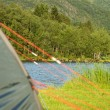 A tent with focus on nature — Stock Photo #29835529