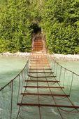 さびで覆われた橋 — ストック写真