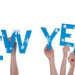 Many People Holding Happy New Year 2014 — Stock Photo #35164261