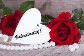 バレンタインデーの背景 — ストック写真
