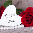 Background with Thank You — Stock Photo