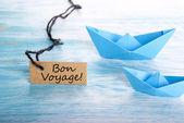 Bon Voyage Tag — Stock Photo