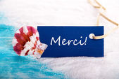 Merci Background — Stock Photo
