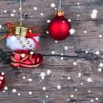 Snowy Christmas Background — Stock Photo #48700057