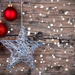 Christmas Background with Star — Stock Photo #50284405