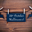 Label with 31st October Halloween — Stock Photo #50284417