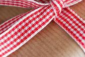 Gift Ribbon Closeup — ストック写真