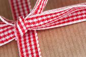 Present Ribbon Closeup — Stockfoto