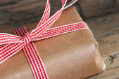 Closeup of a Gift — Stock Photo