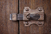 Ancient latch — Stock Photo