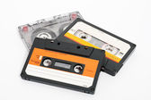 Cassettes tape — Stock Photo