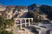 Carrara marble quarry - Ponti di Vara — Stock Photo