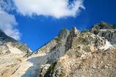 Carrara-Marmor-Steinbruch — Stockfoto