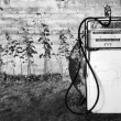 Gasoline pump Black and White — ストック写真 #15277623