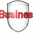 Stock Photo: Business protection
