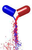Capsule a medicine — Stock Photo