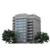 Apartment house — Stock Photo