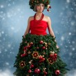 Christmas tree — Stock Photo #16772737