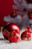 červený míček — Stock fotografie
