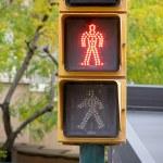 Pedestrian traffic lights red light — Stock Photo #15763287