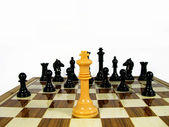 Chess king — Stock Photo