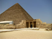 Tombs in Giza and Keops — Stock Photo