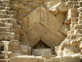 Original door Khufu — Stock Photo