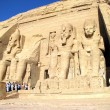 The Great Temple of Rameses II in Abu Simbel - Stock Photo