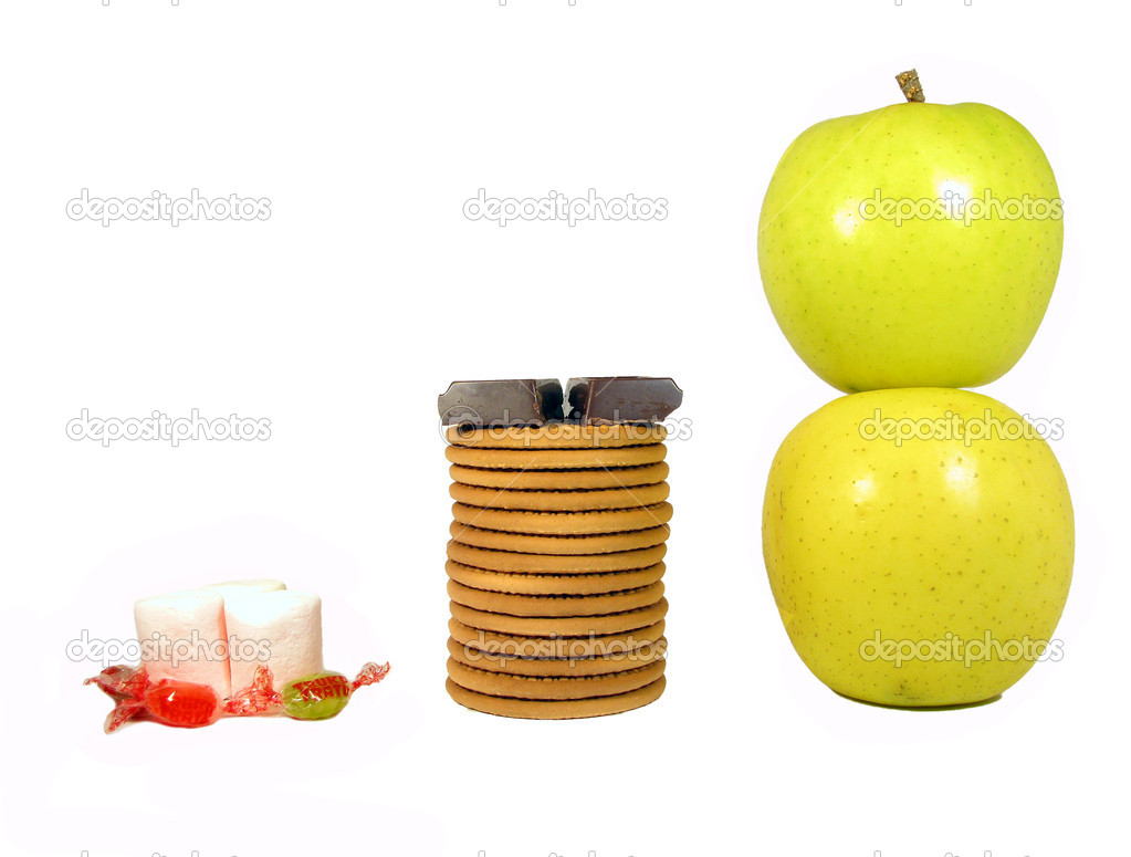 In much the healthiest foods low to high — Stock Photo #16770117